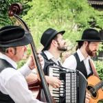 unplugged band kontrabass - Django Mobil